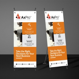 Business Rollup Banner Template
