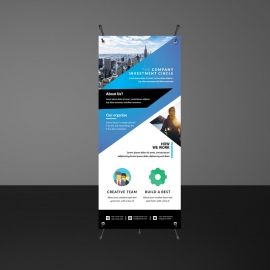 Business Rollup Banners Template