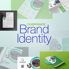 Business Stationary With Green Concepts
