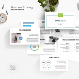 Business Strategy Keynote Template