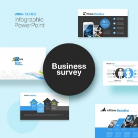 Business Survey Infographic PowerPoint
