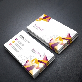 BusinessCard With Abstract Colorful
