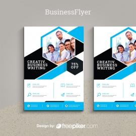 BusinessCyan Flyer Template