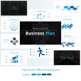 Busniness Powerpoint PresentationTemplate