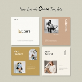 Canva Instagram Post Template