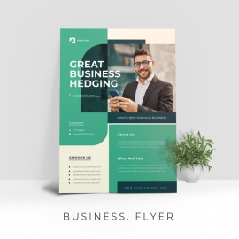 Captivating Professional Business Flyer