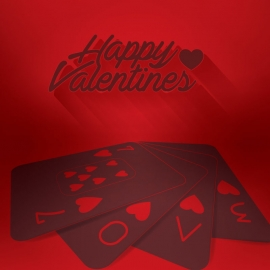 Card Design For Valentines Love