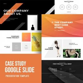 Case Study Google Slide Template 2