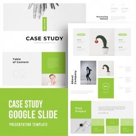 Case Study Google Slide Template 3
