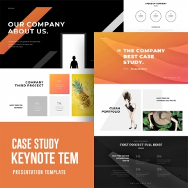 Case Study Keynote Template 2
