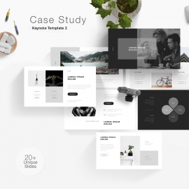 Case Study Keynote Template 3