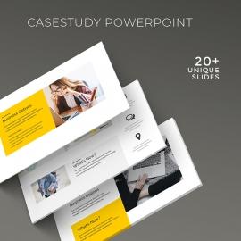 Case Study Minimal PowerPoint Presentation