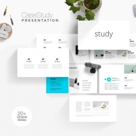 CaseStudy Minimal Presentation Template