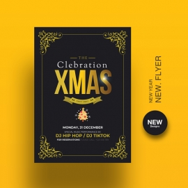 Celebrations Christmas Flyer Template