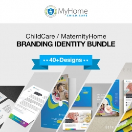 Child Care / Maternity Home Branding Identity Bundle