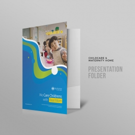Child Care Maternity Home Presentation Folder