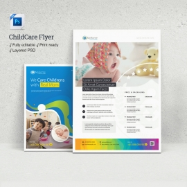 Childcare Maternity Home Flyer