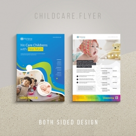 Childcare Maternity Home Flyer & Poster