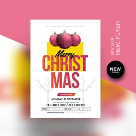 Christmas 2021 Flyer Template