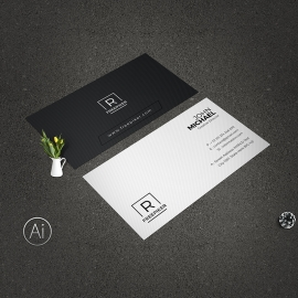 Clean Business Card Free Download