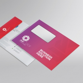 Clean Colourful B5 Envelope