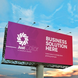 Clean Colourful Business Billboard Banner