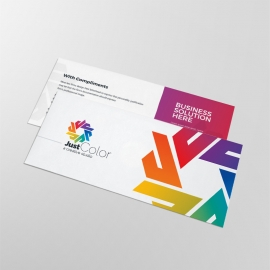 Clean Colourful Compliment Card