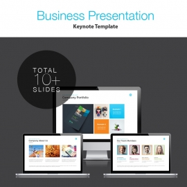 Clean & Creative Keynote Presentation Template