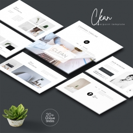 Clean Creative PowerPoint Template