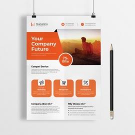 Clean & Creative Stylish Flyer