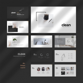 Clean Digital PowerPoint Template