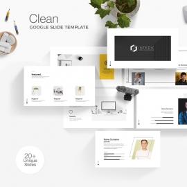 Clean Google Slide Template