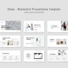 Clean - Minimalist Presentation Template