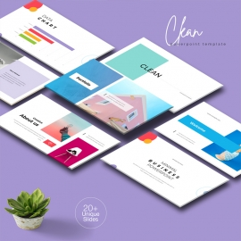 Clean Multipurpose PowerPoint Template