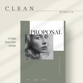 Clean Project Proposal Template