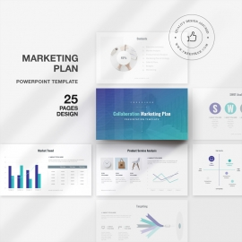 Collaboration Marketing Plan PowerPoint