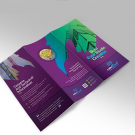ColorBrush Clean  Trifold Brochure