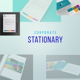 Colorful Business Stationary