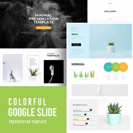 Colorful Google Slide Template