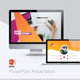 Colourful Business Powerpoint Presentation