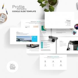 Company Profile Google Slide Template