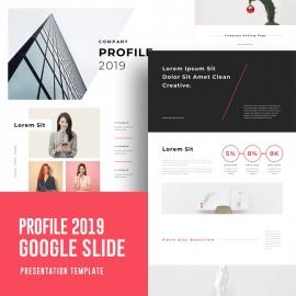 Company Profile Google Slide Template 2