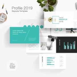 Company Profile Keynote Template 3