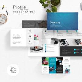 Company Profile Presentation Template