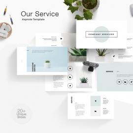 Conpany Service Keynote Template