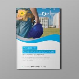 Construction Bi-Fold Brochure Design