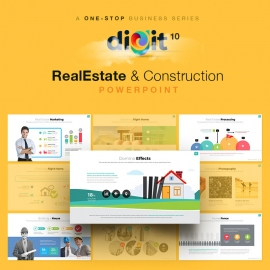 Construction & Real Estate Powerpoint | Digit X