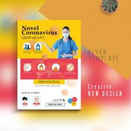 Coronavirus - COVID-19 - Response Flyer With Medical