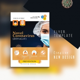 Coronavirus - COVID-19 - Response Flyer With Medical