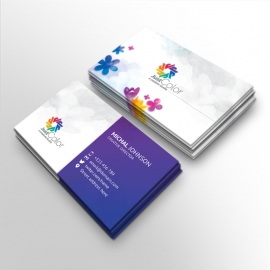 Corporare Clean Business Card